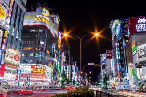 新宿、歌舞伎町、東京