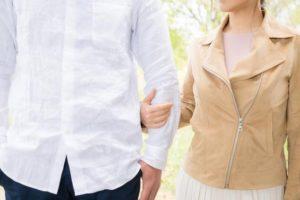 腕繋ぎ、ファッション、男女