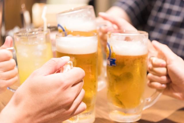 乾杯、合コン、ビール