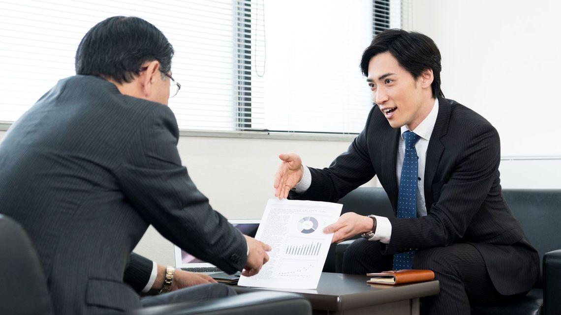 営業、営業マン、交渉