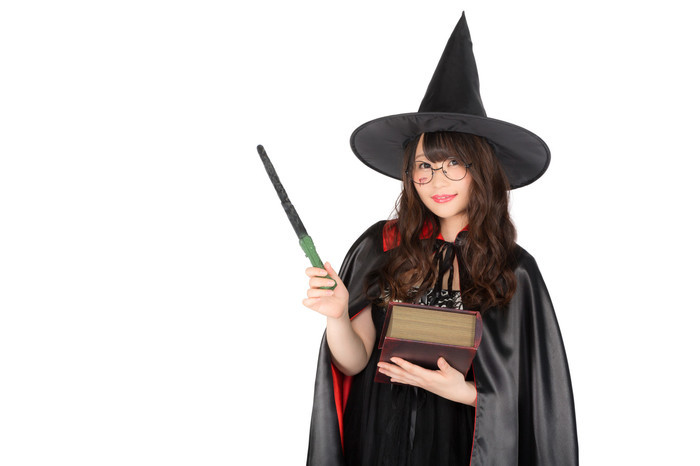 魔法、魔法使い、呪文