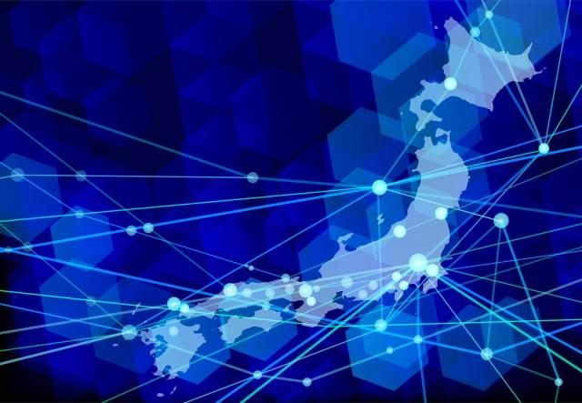 ネットワーク、広告、日本