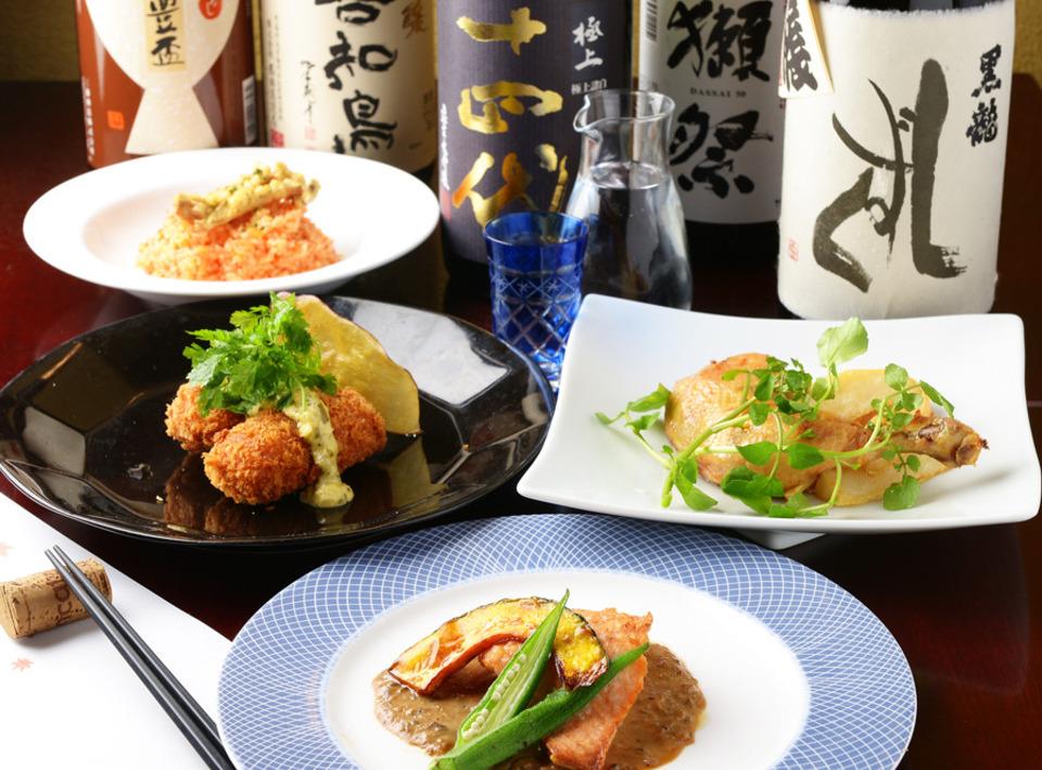 日本酒居酒屋の料理