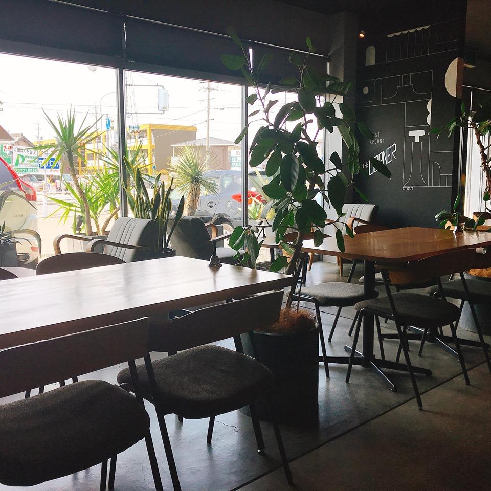 カフェの内観