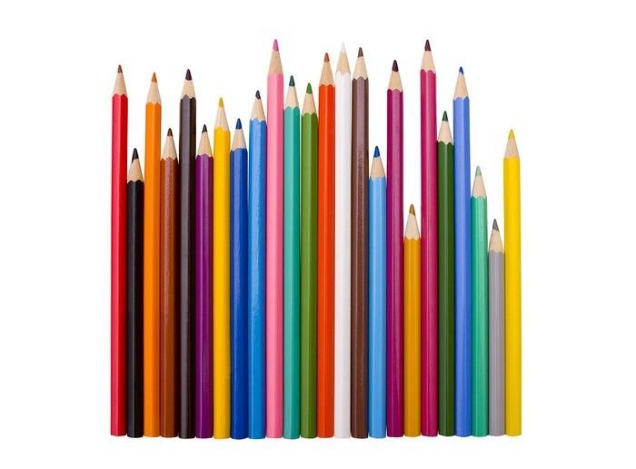 バリエーション,色鉛筆,カラー