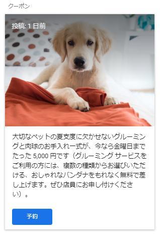 マイビジネス,投稿事例,犬