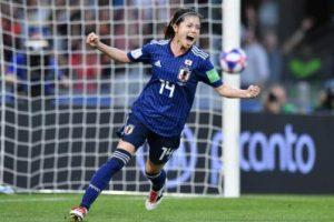 長谷川唯選手なでしこジャパン
