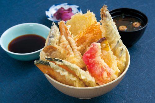 天ぷら-のせ放題天丼