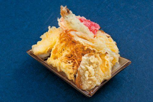 天ぷら-1皿のせ放題