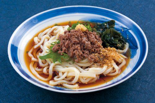 麺-そぼろうどん-冷