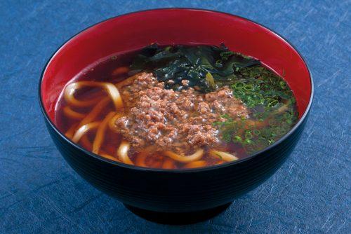 麺-そぼろうどん-温