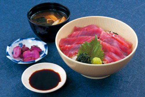 魚-近海上まぐろ丼